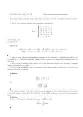 Exam 1 Solution Sample 1