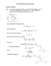 HW 07 Solutions