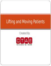 PS_FREL_5_LiftingAndMovingPatientsPowerPoint.ppt