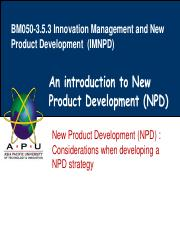 Lecture 4- Considerations when developing a NPD strategy.pdf