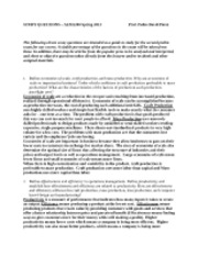 Cornell aem essay