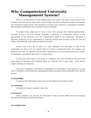 2. Why Computerized Management System