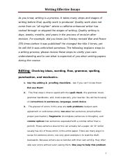 101 Notes on Essay Writing (4)