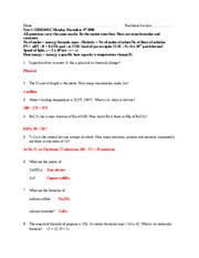 Test 5 CHM1045C Fa06 - pink - answers