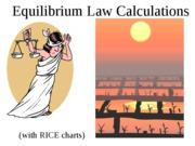 equilibrium-calculations