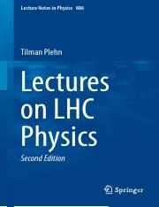LNP0886 Tilman Plehn (auth.) - Lectures on LHC Physics (Springer International Publishing, 2015).pdf