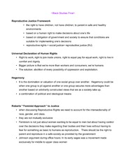 Bl St 4 Final Review Study Guide