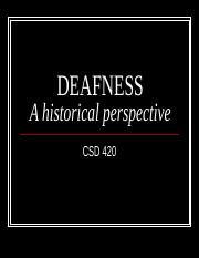 History of Deafness.ppt