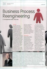 Business Process Reengineering. Management Services (Chamberlin)