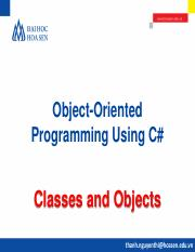 OOP@Bai 3. Classes and Objects.pdf