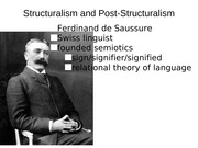 Structuralism and Post-Structuralism LIT ppt