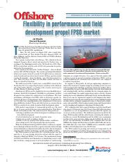 Flexibility FPSO article Offshore Mag