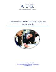 Mathematics Entrance Exam Guide.pdf