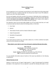 Physics-Lab-Report-Format-Spring-2010