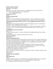 2013 social psych 6 - study guide 2