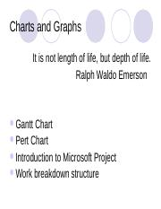 Chapter 6 Introduction to microsoft project