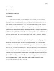 fear essay lajcin antonio lajcin mrs nosbisch ap english and essays