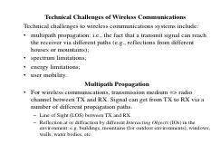 PUE 3121 - Technical Challenges of Wireless Communications Jan-Apr 2017