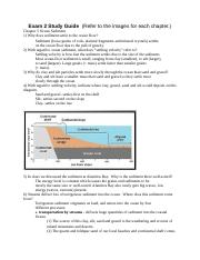 GEOL 160 Exam 2 Study Guide.docx