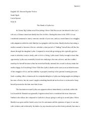 Essay 1 Textual Analysis Everything I Never Told You.docx