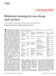 Recombinant Pharmaceuticals Article
