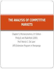 ANALYSIS OF COMPETITIVE MARKETS (4.1).ppt