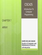 CHAPTER 7 - ARRAY.ppt-1113320051.ppt