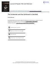 08 Luckless in New York_The Schlemiel and the Schlimazl in Seinfeld.pdf