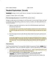 Student Exploration- Circuits (ANSWER KEY).docx - Student ...