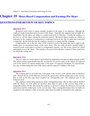 Intermediate Accounting II Solution Manual Chapter 19