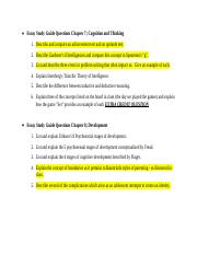 Essay Study Guide Questions Chapter 7,8,9,14.docx