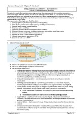 OPERATIONS MANGEMENT 1 - Chapter 17 - Handout 1