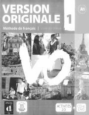 269347158 Version Originale 1 Methode De Francais Livre De L