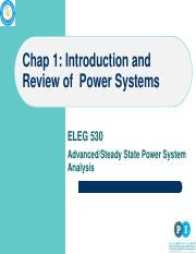 ELEG 530_ Chap 1_ Introduction and Review of Power Systems
