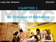 Chapter 1_An Overview of Marketing