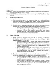 Ch. 1 Notes-Fall 2009