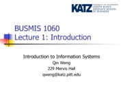 Lecture 1-Introduction