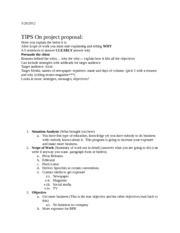 PR Notes 3-26-12 (Proposal Example)