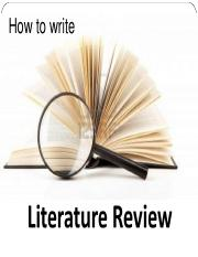 3 Literature  Review.ppt