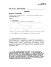 university of pheonix appendix j reliable sources worksheet ----- epa 841-b-99-002 rapid bioassessment protocols for use in streams and wadeable rivers: periphyton, benthic macroinvertebrates, and fish.