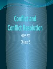 Conflict and Conflict Resolution(2).pptx