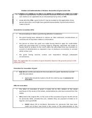Probate and Administration of Estates- Revocation of grant under LSA.docx