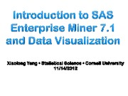 1.Introduction to Enterprise Miner 7_1