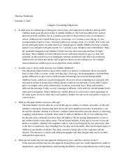 Chapter 5 Learning Objectives .docx