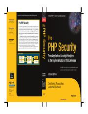 Pro PHP Security_ 2nd Edition