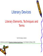LiteraryDeviceReview.ppt