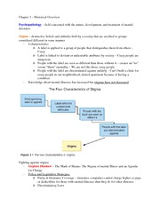 Historical Overview Outline