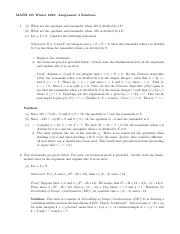 MATH135W16Assignment04Solutions