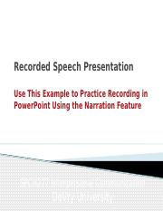 PowerPoint to Practice Recording.pptx