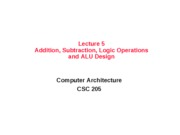 lec05_Additon_Subtraction